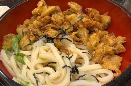 【店舗限定】丸亀製麺のあさりのバラ天ぶっかけうどんの『カロリー』&『栄養成分』について