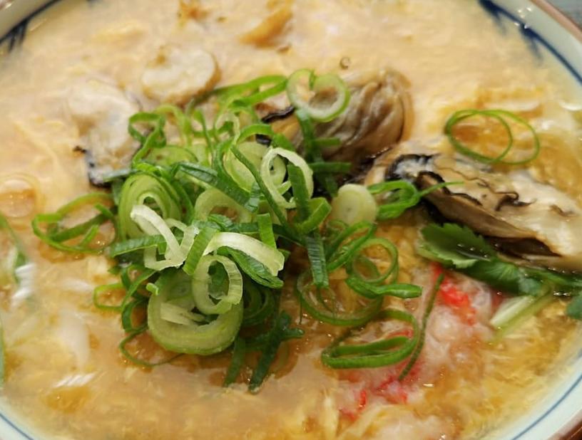 【期間限定】丸亀製麺 海鮮玉子あんかけうどんのサイズ別『カロリー』&『栄養成分』は?