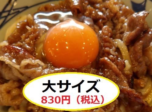 大サイズ 830円(税込み)